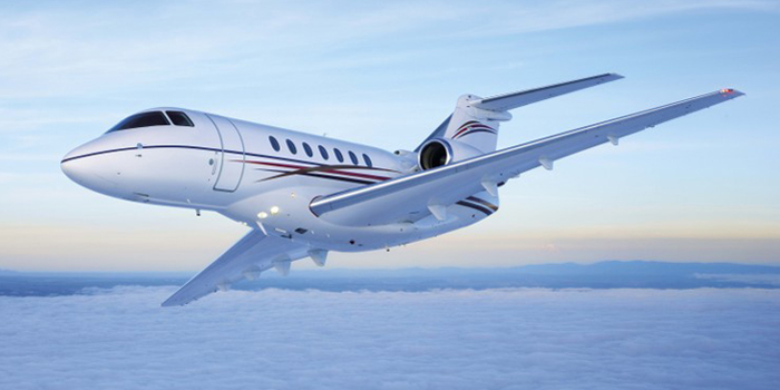 Hawker 4000 - 'The world�s most sophisticated business jet'.