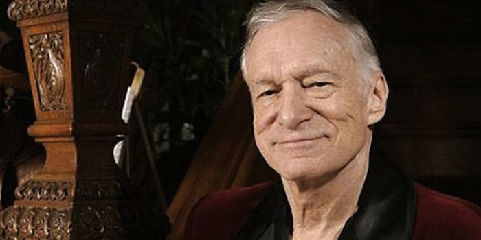 Hugh Hefner. American magazine publisher, as well as the founder and chief creative officer of Playboy Enterprises.