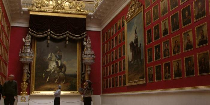 Hermitage Museum, 38 Palace Embankment, Dvortsovy Municipal Okrug, Central District, Saint Petersburg, Russia.