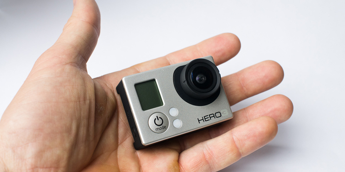 GoPro HERO3 camera.