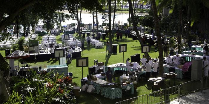 Hilton Farm to Table at Hawaii Food & Wine Festival 2012.