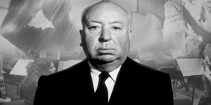 Alfred Hitchcock - English film director and producer (1899-1980).