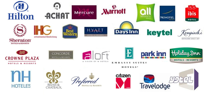 List of chained-brand hotels.