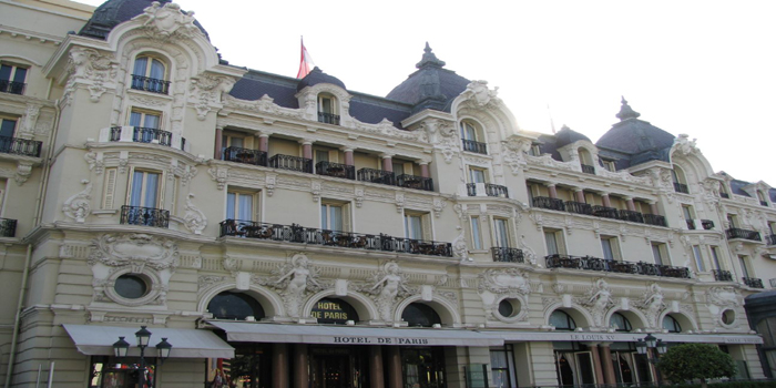 Hôtel de Paris Monte-Carlo, Place du Casino, Monte-Carlo, 98000 Monaco.