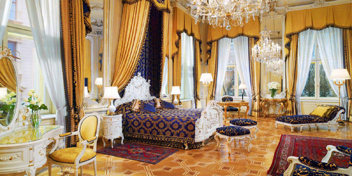 The Royal Suite at Hotel Imperial, Kärntner Ring 16, 1015 Vienna.