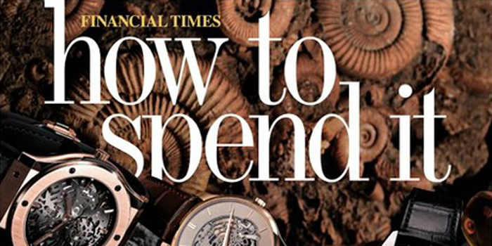 How To Spend It - 'A website of worldly pleasures from the Financial Times's award-winning luxury lifestyle magazine'.