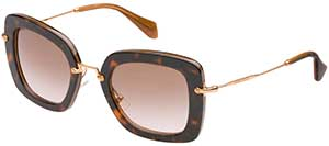 Miu Miu women's sunglasses: £205.
