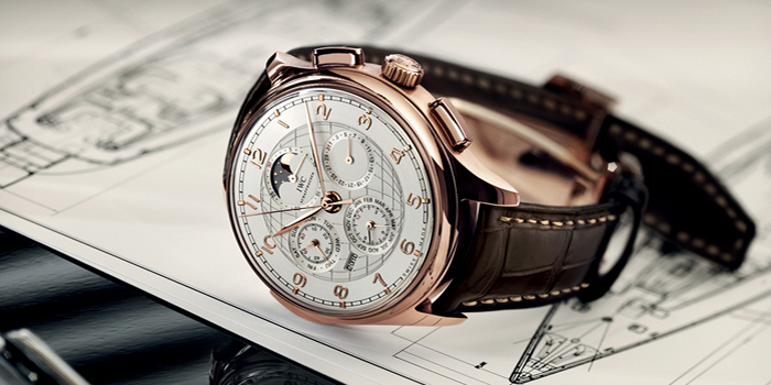 IWC Portuguese Grande Complication Gold Watch.