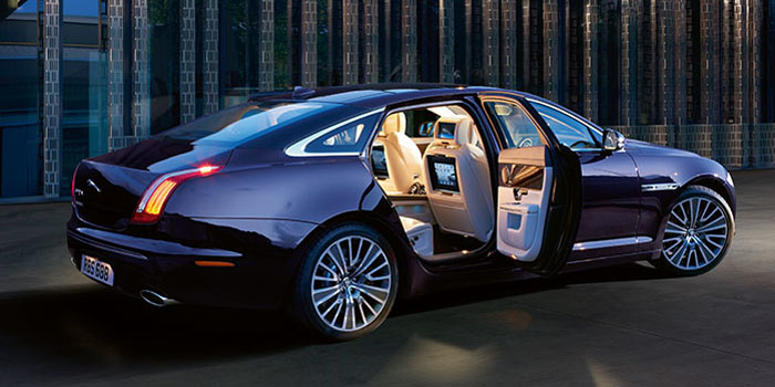Jaguar XJ Ultimate (2013-) - 'The most beautiful limousine in Jaguar's history.' The definitive luxury car.
