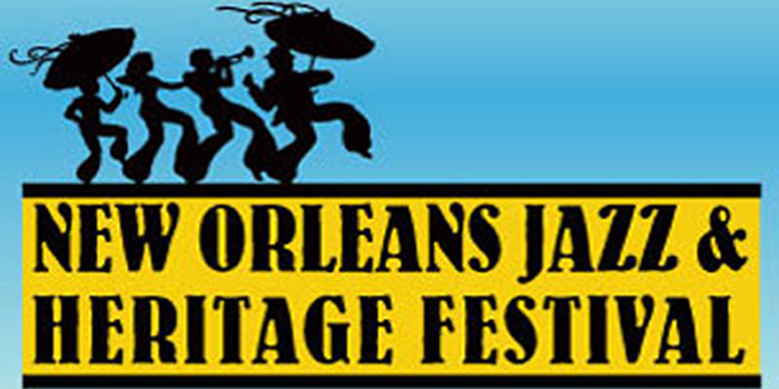 New Orleans Jazz & Heritage Festival since 1970.