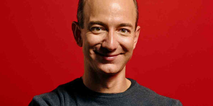 Jeff Bezos - world's 13th richest person: US$36 billion (as of December 31, 2013. Bloomberg Billionaires).