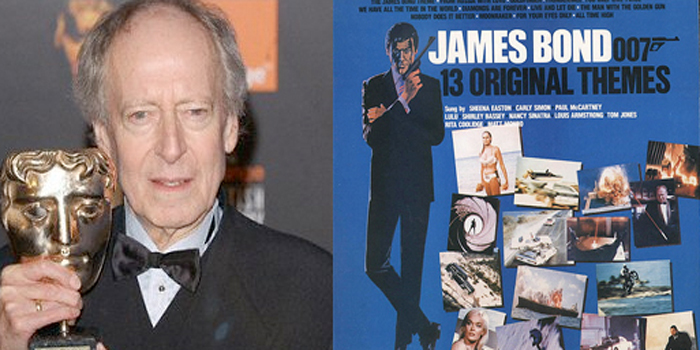 John Barry - English composer and conductor of film music. He composed the soundtracks for 11 of the James Bond films between 1963 and 1987.