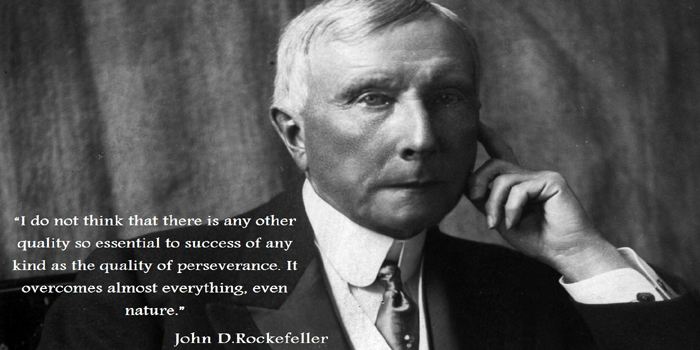 John D. Rockefeller (July 8, 1839 – May 23, 1937). American industrialist and philanthropist. He was the founder of the Standard Oil Company. World's first US$-billionaire. Net worth in today's money: US$340 billion.