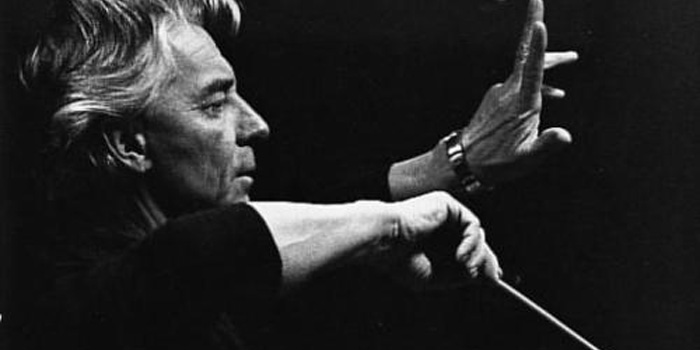 Herbert von Karajan (1908-1989) - Austrian orchestra and opera conductor. To the wider world he was perhaps most famously associated with the Berlin Philharmonic, of which he was principal conductor for 35 years.