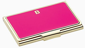 Kate Spade One In A Million Business Card Holder: US$30.