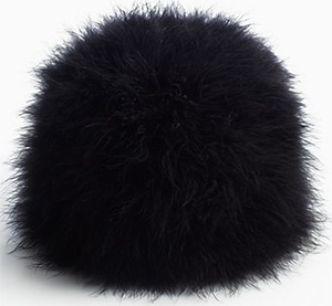 Kate Spade Madison Ave. Collection Marabou Pillbox Women's Hat: US$248.