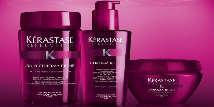 Kérastase - luxury haircare brand.