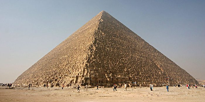 Great Pyramid of Giza, Al Haram, Giza, Egypt.