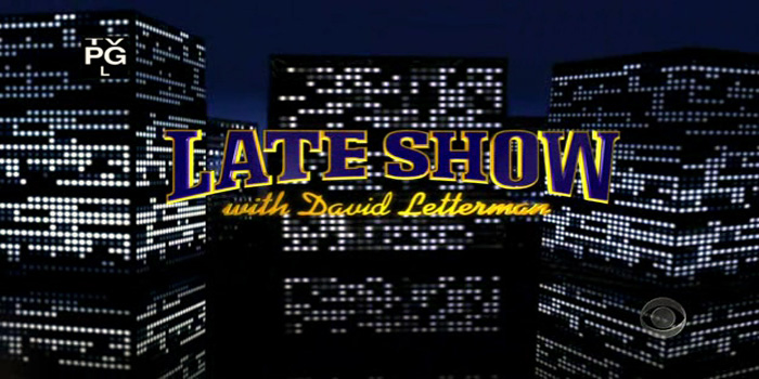 Late Show with David Letterman - American late-night talk show hosted by David Letterman on CBS. The show debuted on August 30, 1993.