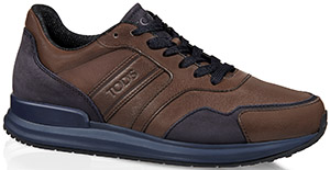 Tod's men's leather sneaker.