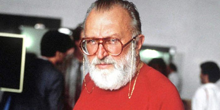 Sergio Leone - Italian film director, producer and screenwriter most associated with the 'Spaghetti Western' genre.