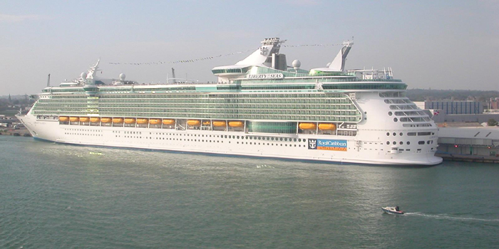 MS Liberty of the Seas is a Royal Caribbean International Freedom class cruise ship. It is the fifth largest cruise ship in the world. The 15-deck ship accommodates 3,634 passengers served by 1,360 crew.