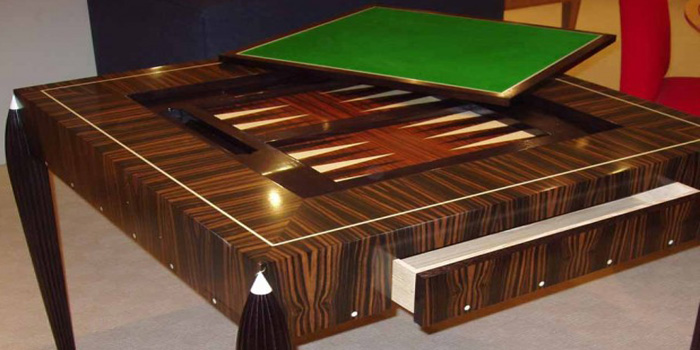 Linley Art Deco Games Table.
