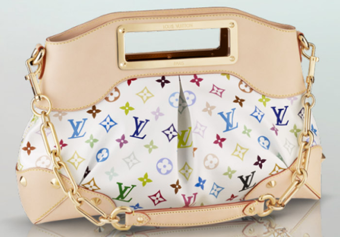 Louis Vuitton Judy MM Handbag.