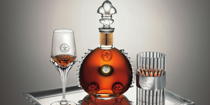 Louis XIII de Rémy Martin. Since 1874. 'The King of Cognacs.'