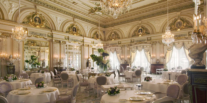Restaurant Le Louis XV–Alain Ducasse at Hôtel de Paris.
