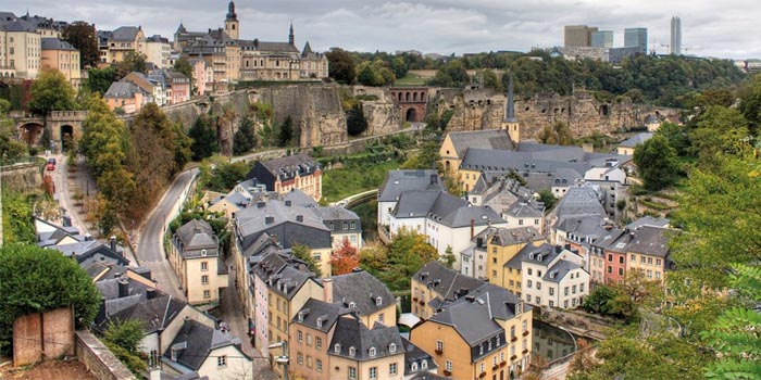Luxembourg City, Grand Duchy of Luxembourg.