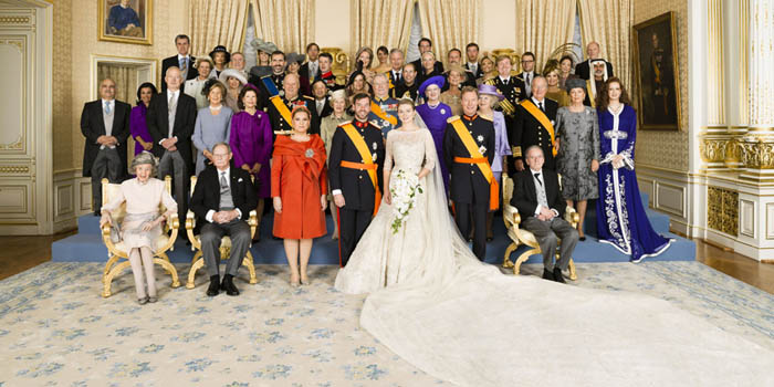 Luxembourg Royal Wedding (October 20, 2012).