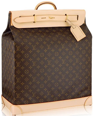 Louis Vuitton Steamer Bag 45: US$5,400.
