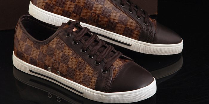 Louis Vuitton sneakers.