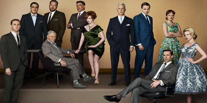 Mad Men - American television period drama series (2007-).