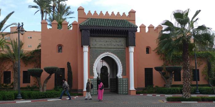 La Mamounia, Avenue Bab Jdid, 40 040 Marrakech, Morocco.