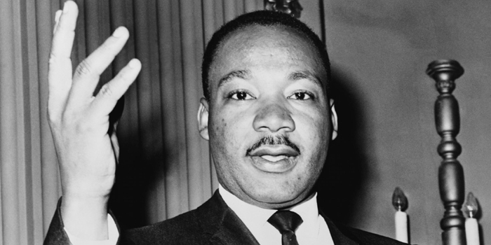 Dr. Martin Luther King, Jr. (1929-1968). American clergyman, activist, and leader in the African-American Civil Rights Movement. He is best known for his role in the advancement of civil rights using nonviolent civil disobedience.