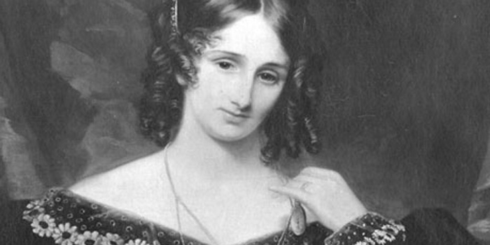 Mary Shelley (1797-1851) - English novelist, short story writer, dramatist, essayist, biographer, and travel writer, best known for her Gothic novel Frankenstein: or, The Modern Prometheus (1818).
