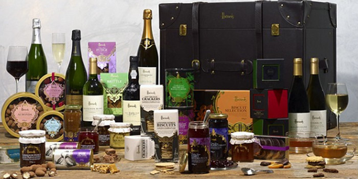 Harrods Mayfair luxury gourmet hamper: £1,000.