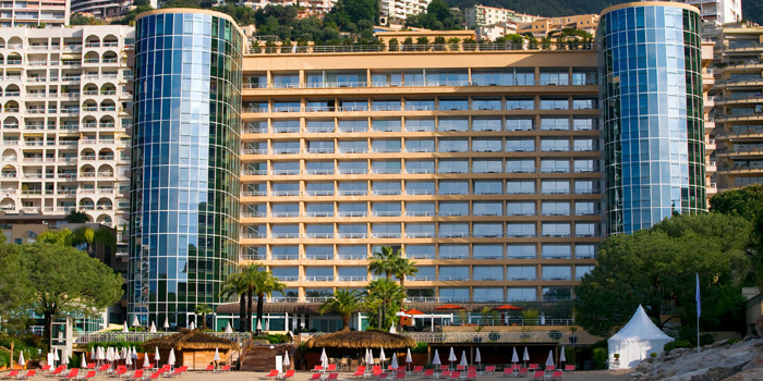 Le Méridien Beach Plaza. The only hotel in Monaco with a private beach.