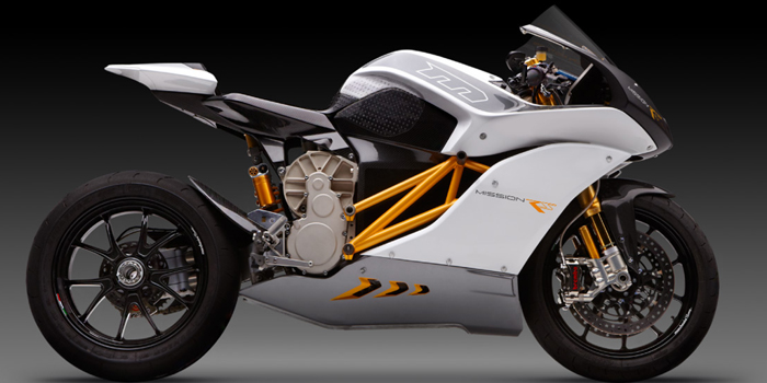 The Mission RS motorcycle - The world's most advanced limited production electric motorcycle.