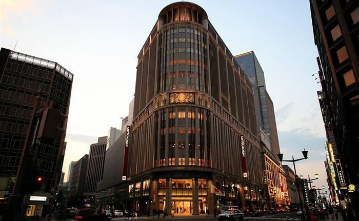 The Mitsukoshi Department Store in the Nihonbashi section of Tokyo.