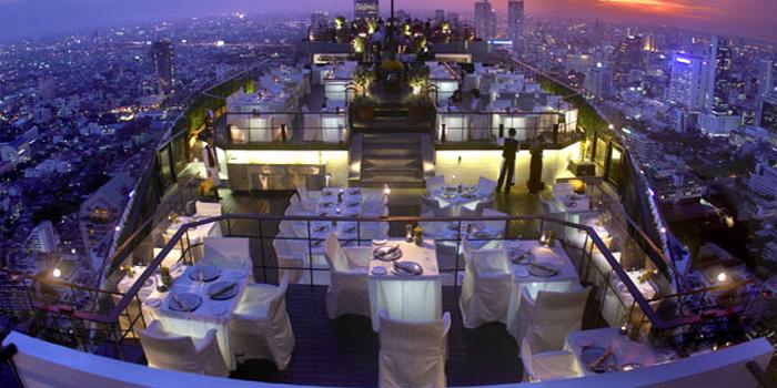 Vertigo Grill & Moon Barat Banyan Tree Hotel, Bangkok, Thailand.