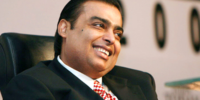 Mukesh Ambani - world's 36th richest person: US$20.7 billion (as of December 31, 2013. Bloomberg Billionaires).