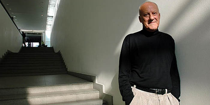British architect Norman Foster, Baron Foster of Thames Bank (1935-).
