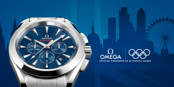 Omega Seamaster Aqua Terra Olympic Collection.