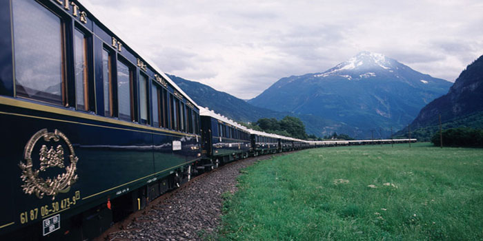 The Venice Simplon-Orient-Express, or VSOE, is a private luxury train service from London to Venice that is popularly referred to as the Orient Express, its historic namesake.