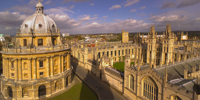University of Oxford, Oxford, England, U.K. Ranked No. 3 by the Times Higher Education World University Rankings 2012-2013.
