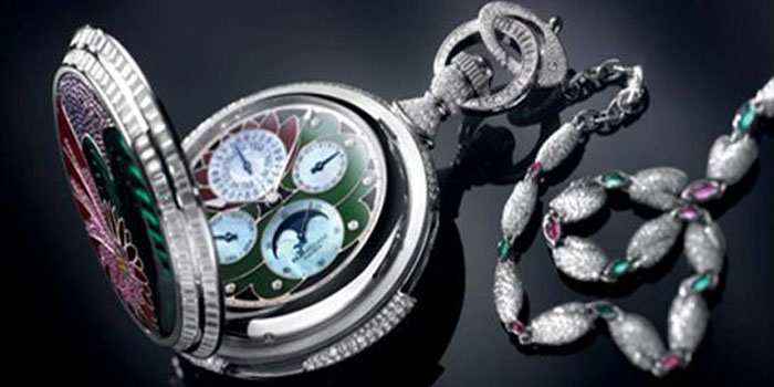 Parmigiani Fleurier Fibonacci Pocket Watch: US$2.4 Million.