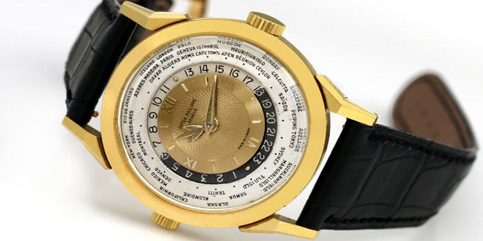 World's Most Expensive Watch #10: Patek Philippe 1953 Model 2523 Heures Universelles Watch: US$2,899,373.